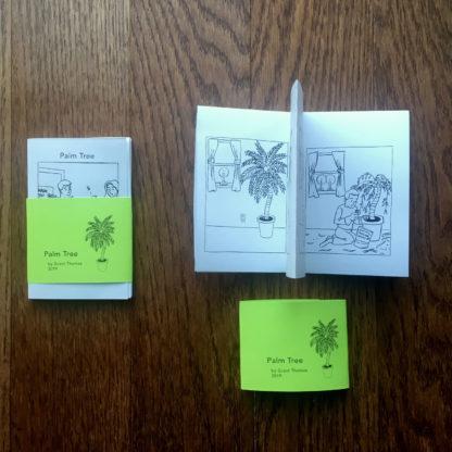 Palm Tree Mini Comic interior pages