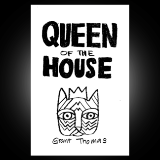 Cover from Queen of the House comic book zine